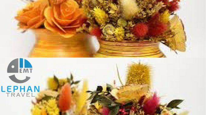 Hoa sấy khô