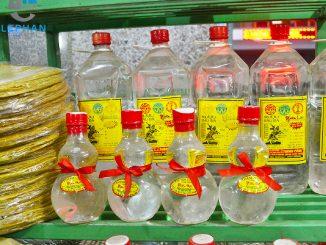 Rượu Bầu Đá Bình Định là đặc sản Bình Định làm quà
