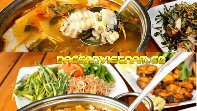 Cá Tâm măng chua Kon Tum