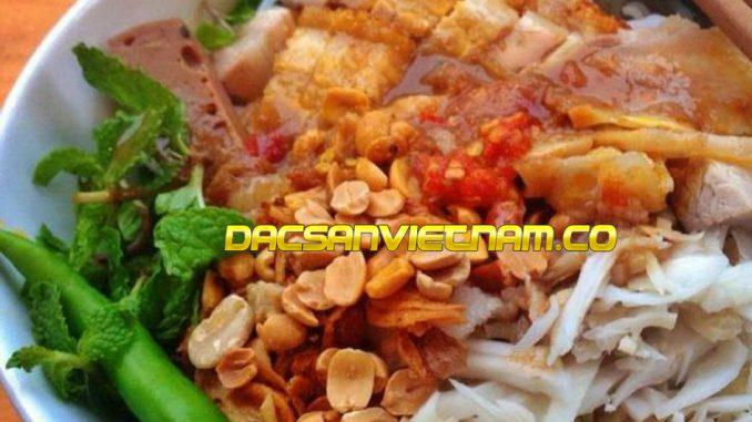Bún mắm nêm Đà Nẵng
