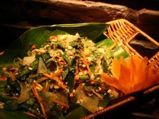 Nộm da trâu Sơn La: món ăn truyền thống của người Thái. 1
