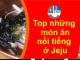 món ăn ở đảo jeju