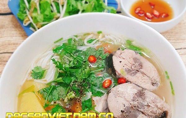 cách nấu bún cá Nha Trang