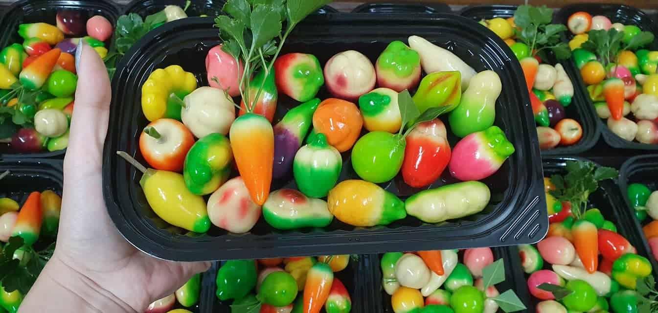 Bánh đậu xanh trái cây Huế