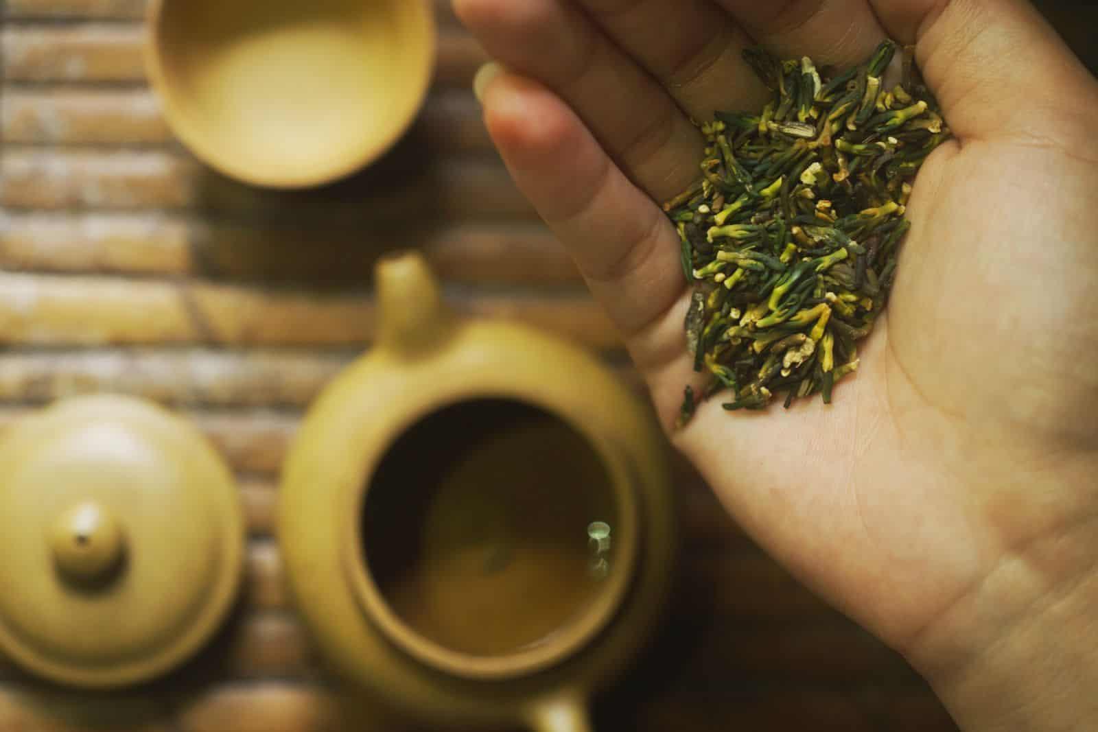 Trà sen xứ Huế - Tinh hoa ẩm thực trà Cung đình Huế 2