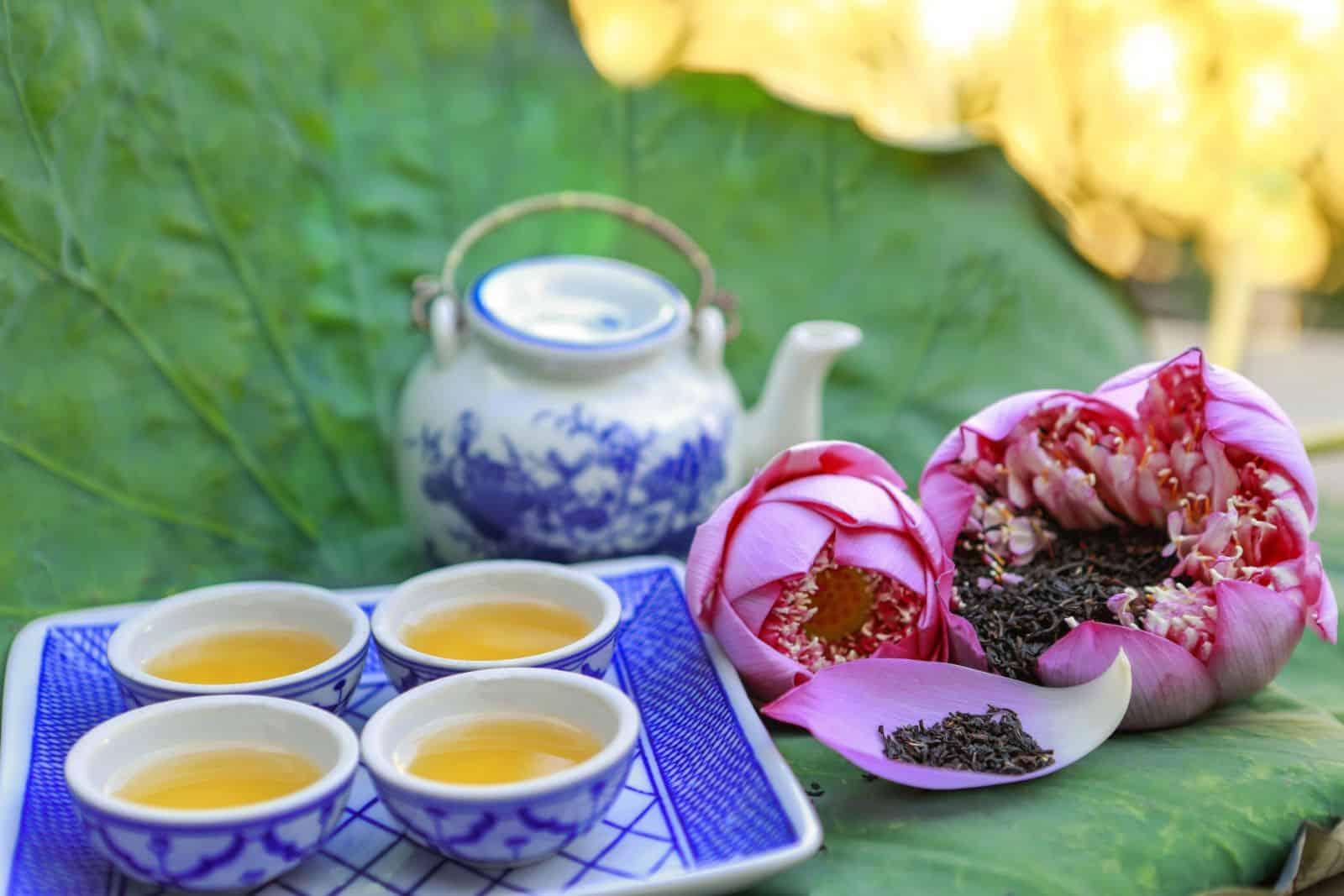 Trà sen Hồ Tây - Tinh hoa văn hóa trà của người Việt 2