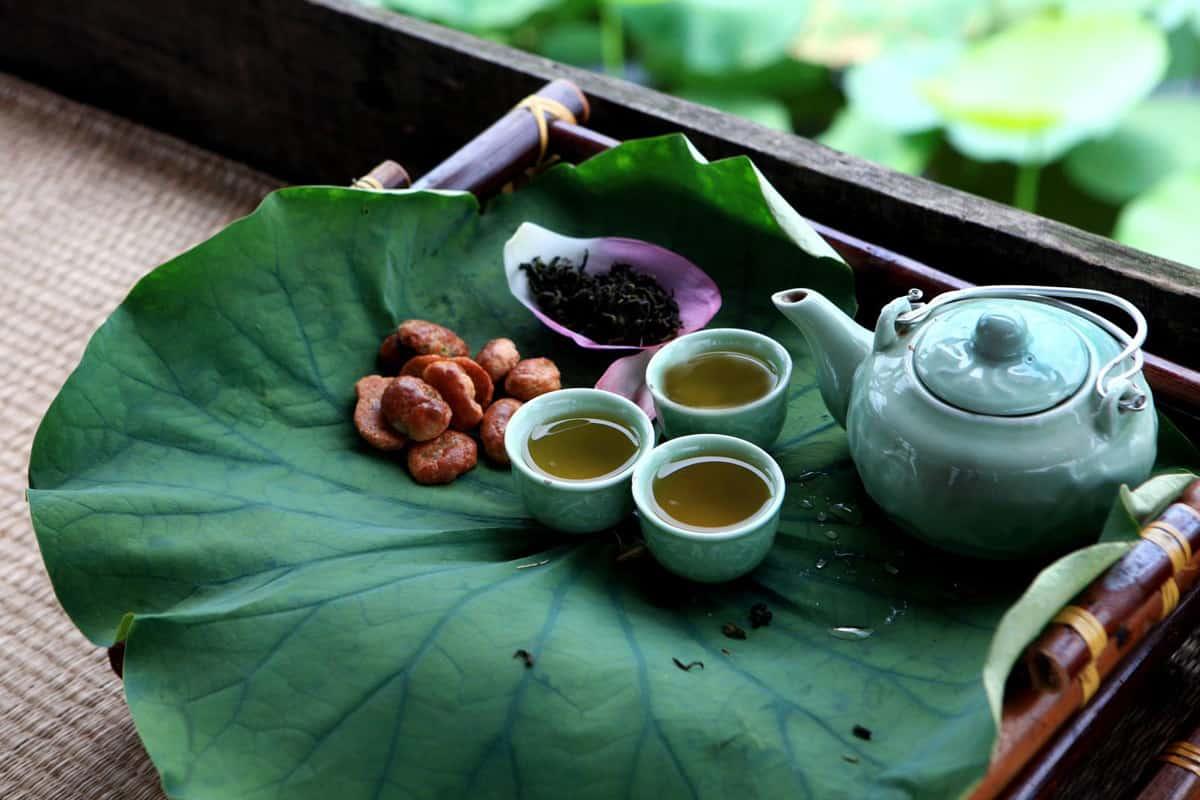 Trà sen Hồ Tây - Tinh hoa văn hóa trà của người Việt 3
