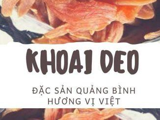 """Khoai Deo – Đặc sản Quảng Bình """"gây thương nhớ"""" níu chân du khách 1"""
