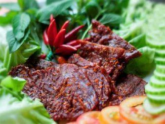 Về Phú Yên thưởng thức đặc sản Bò một nắng - Đậm đà thơm ngon 1