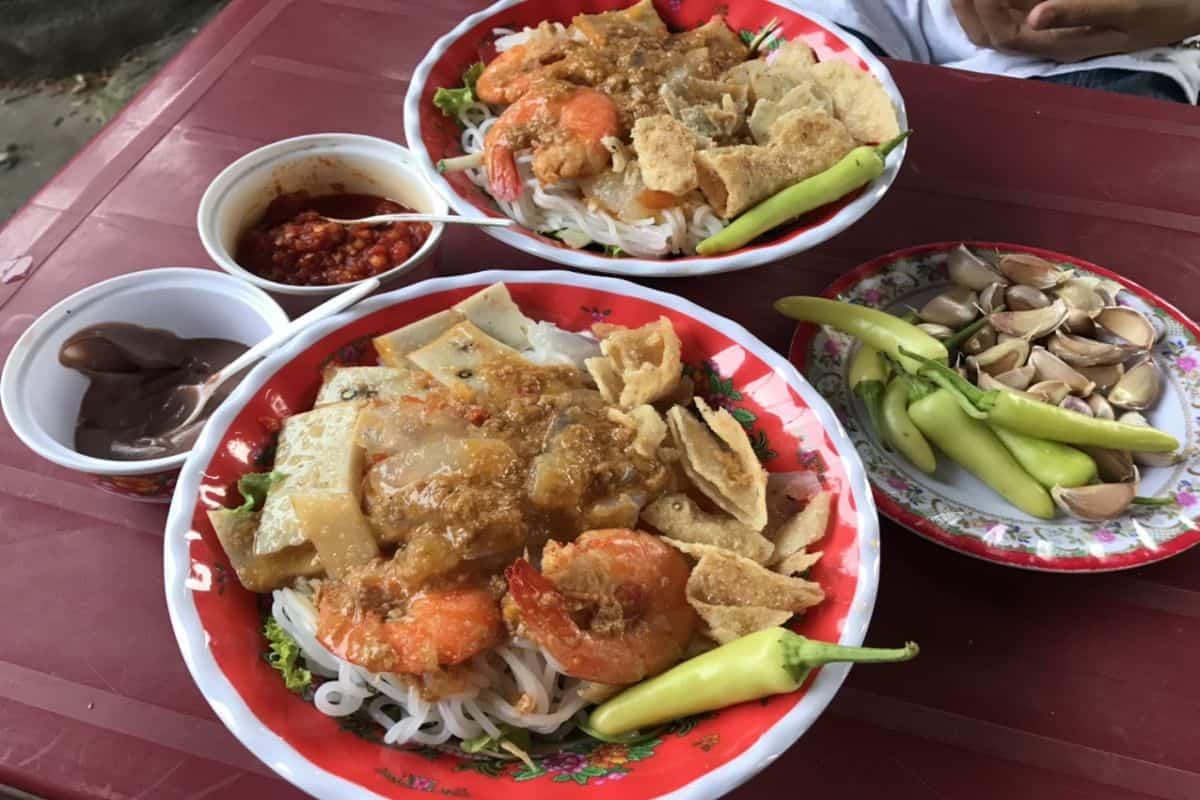 Bún Giấm Nuốc món ăn thanh mát mùa hè xứ Huế - Bí quyết làm món Bún Giấm Nuốc ngon tuyệt ! 1