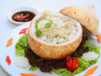Cơm trái dừa ẩm thực Cung Đình Huế - Cách chế biến món Cơm trái Dừa chuẩn vị Cung Đình Huế 11