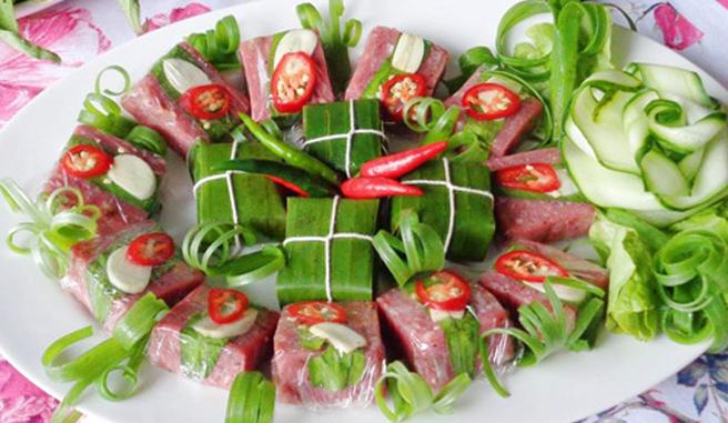 Đặc sản Nem chua Thanh Hóa - say lòng du khách 4